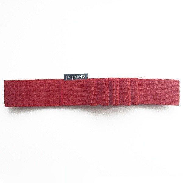 Gumička na tužky A4 – červená