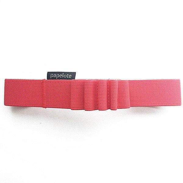 Gumička na tužky A5 – světle červená