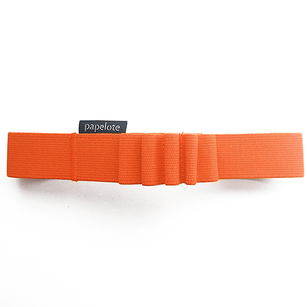 Gumička na tužky A5 – oranžová