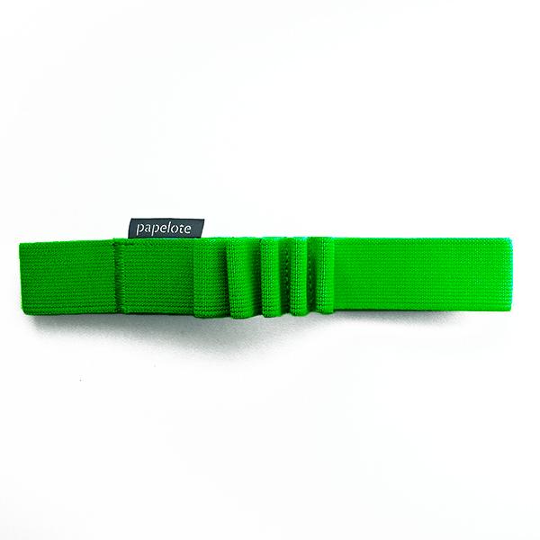 Gumička na tužky A5 – zelená