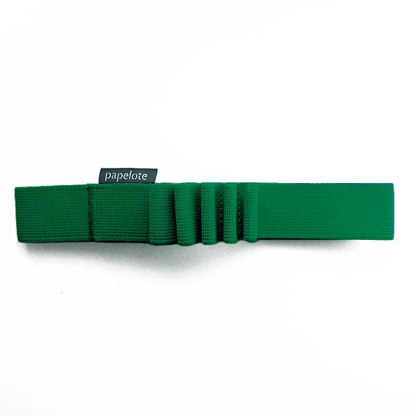 Gumička na tužky A5 – tmavě zelená