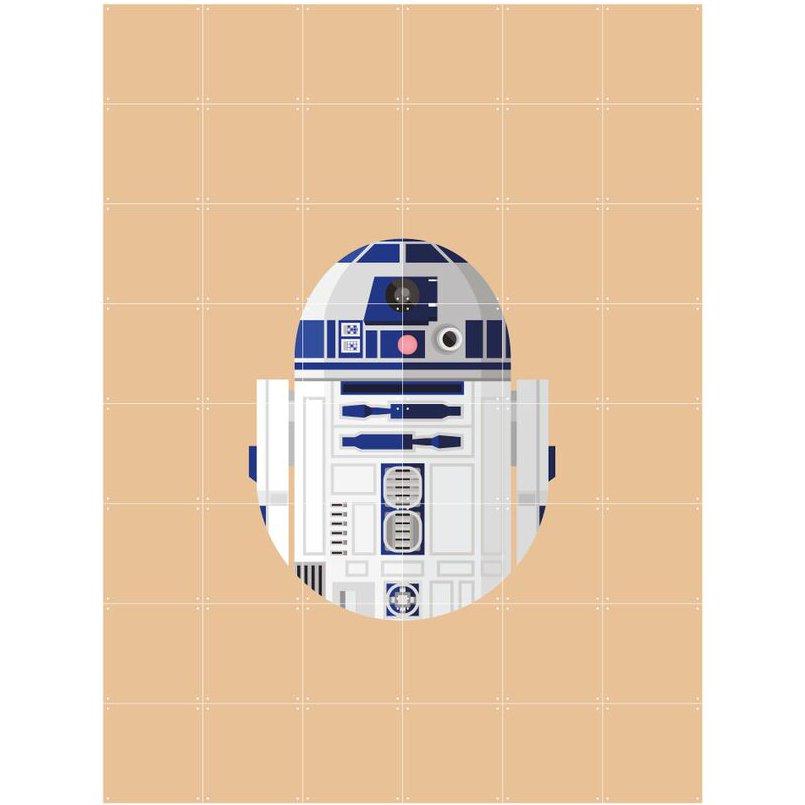 Skládaný obraz IXXI – SW Cool Club R2–D2