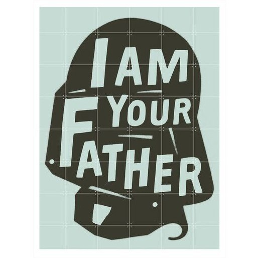IXXI Skládaný obraz IXXI – I am your Father – L