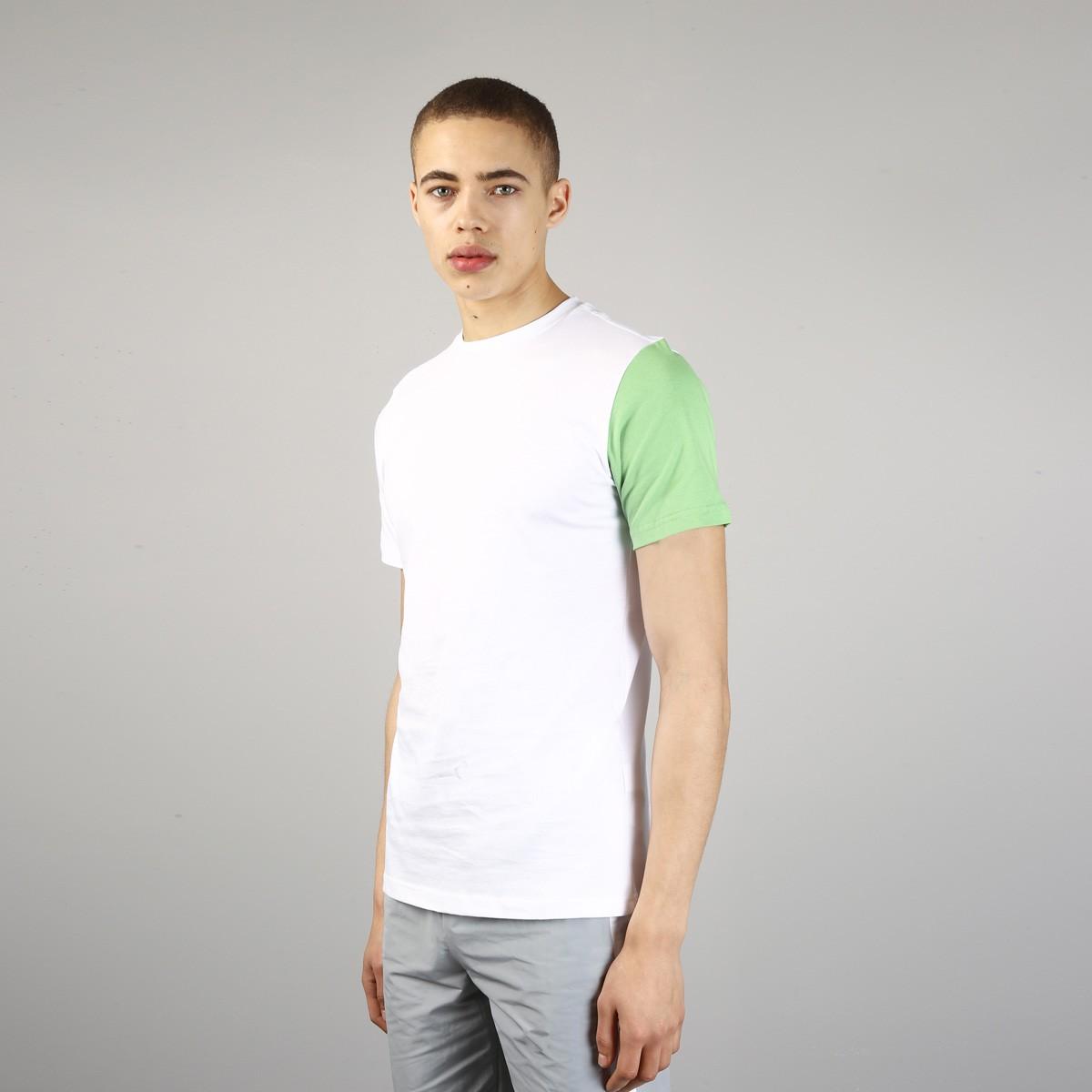 Bílé tričko – Tides – XL