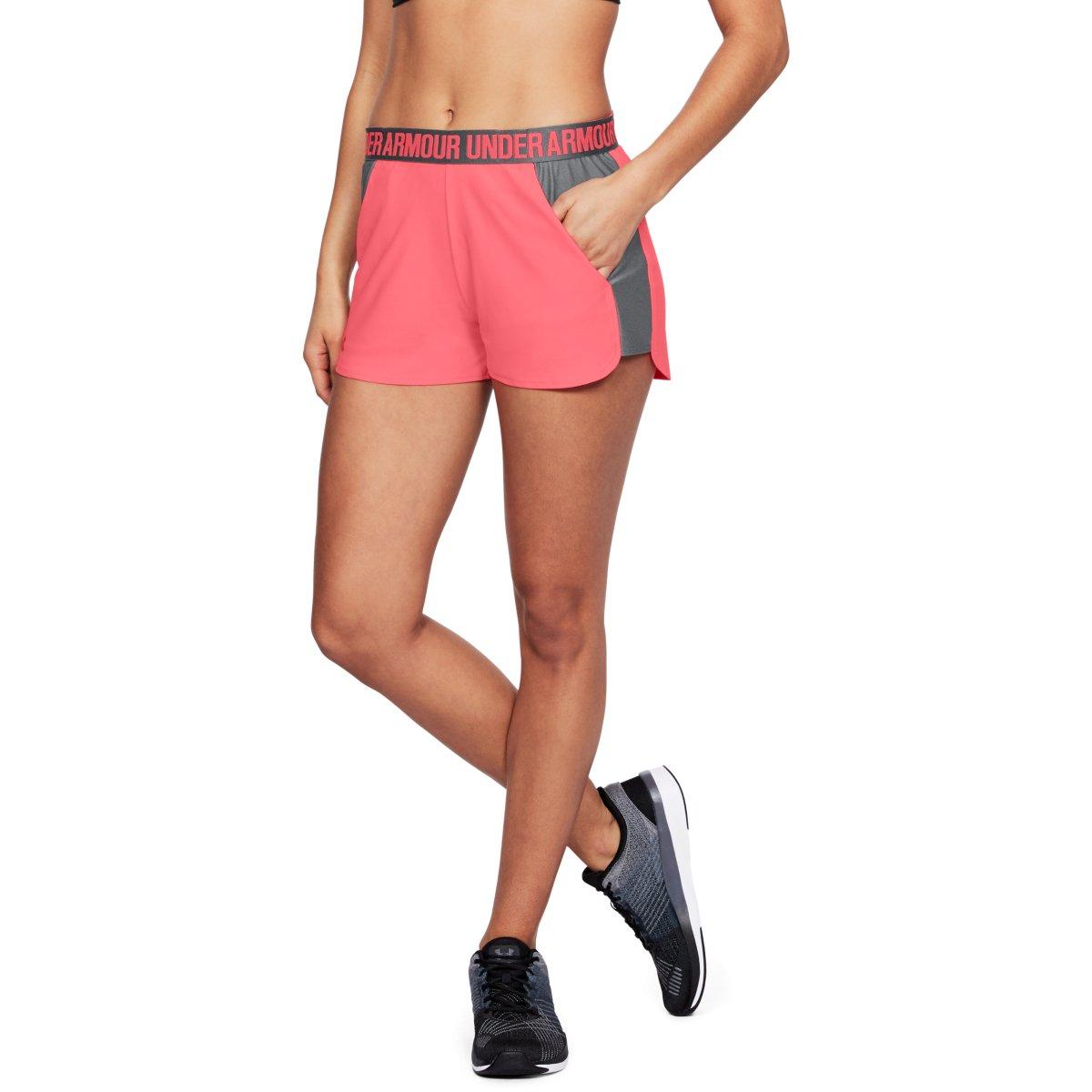 Růžové sportovní kraťásky – Play Up Short – XS