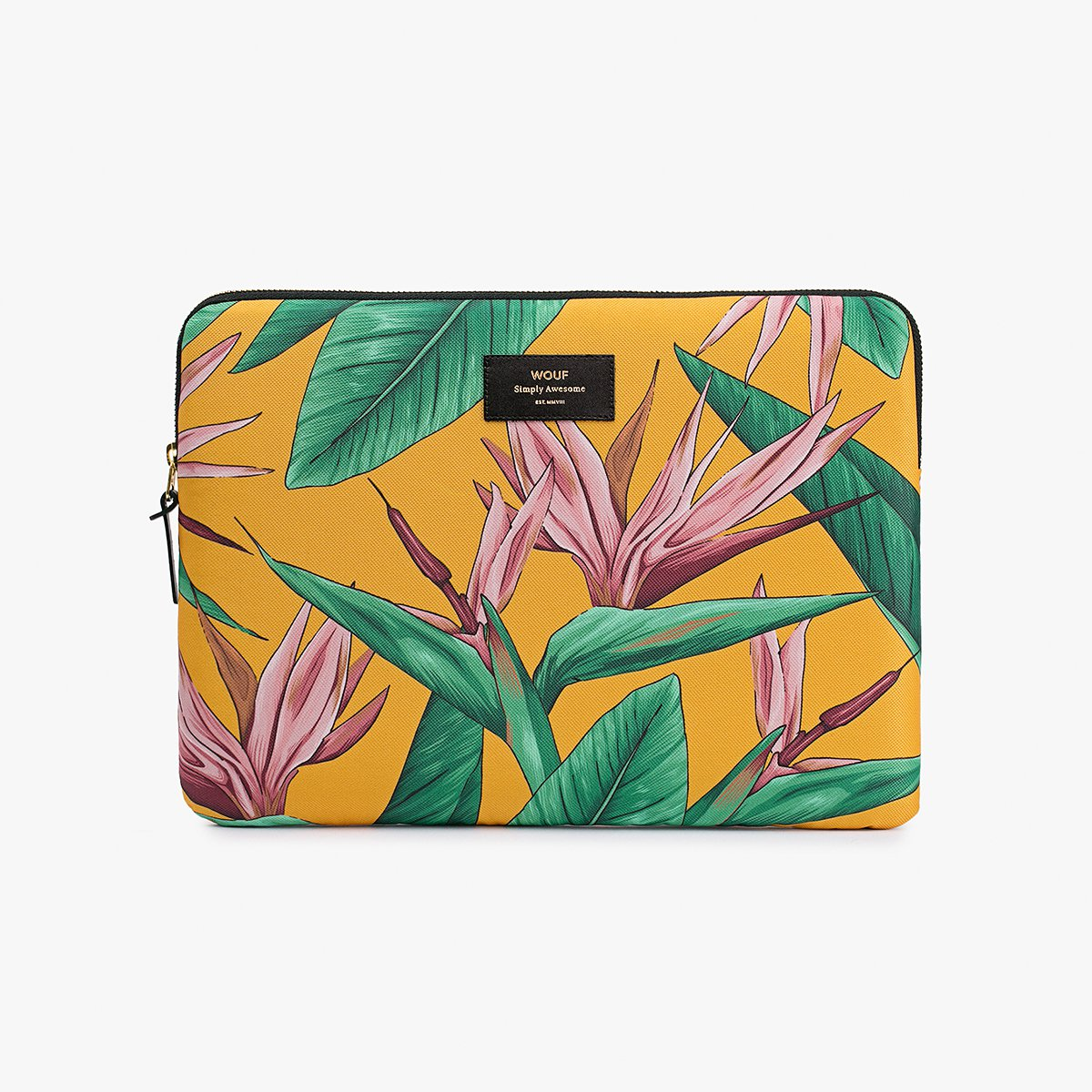 "Pouzdro na notebook 13"" – Bird of Paradise"
