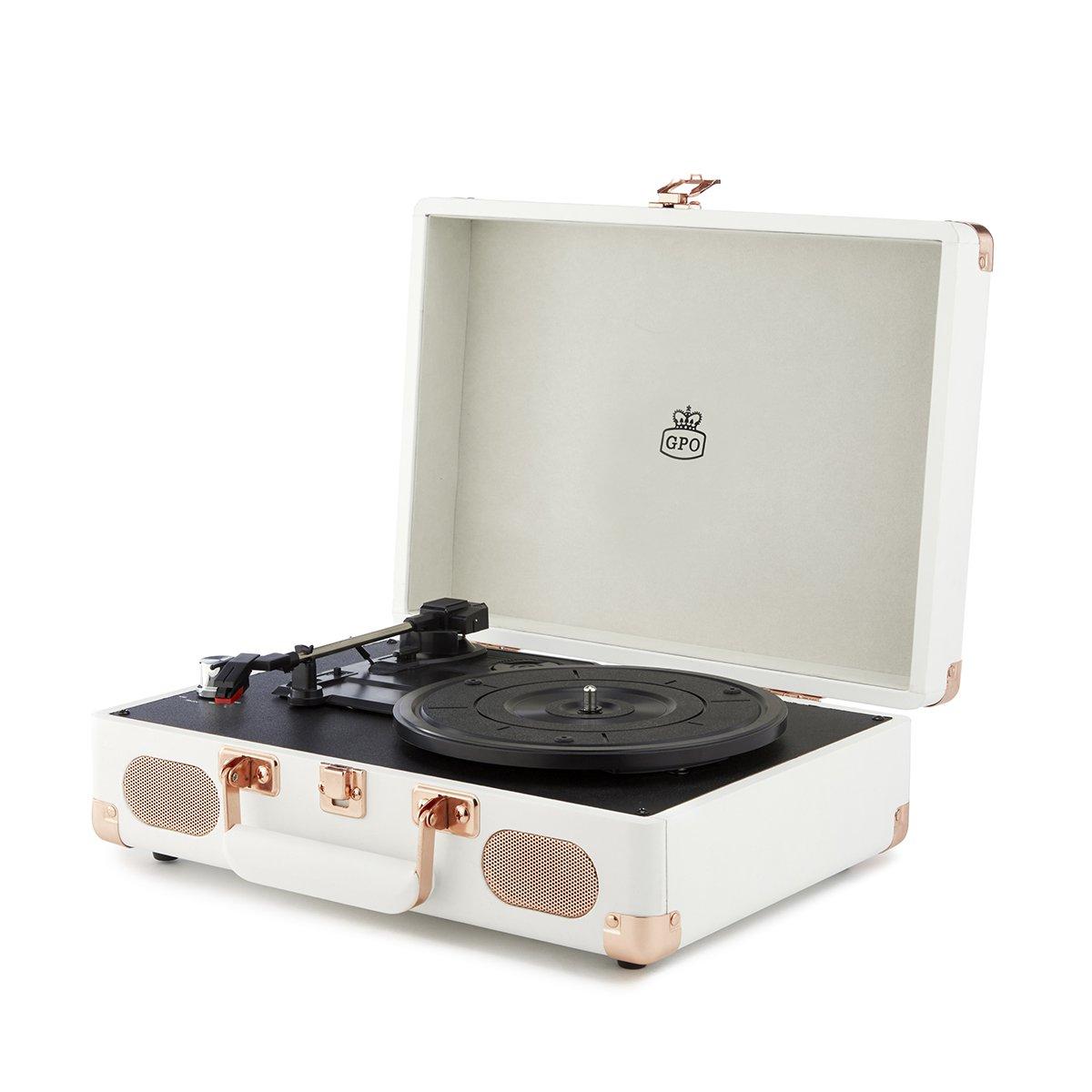 Gramofon Soho White