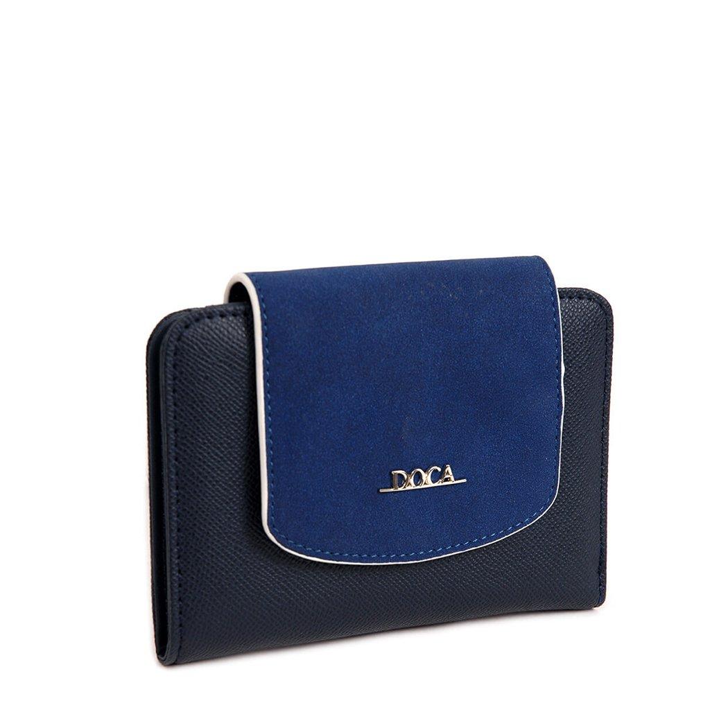 Tmavě modrá peněženka – Trendy