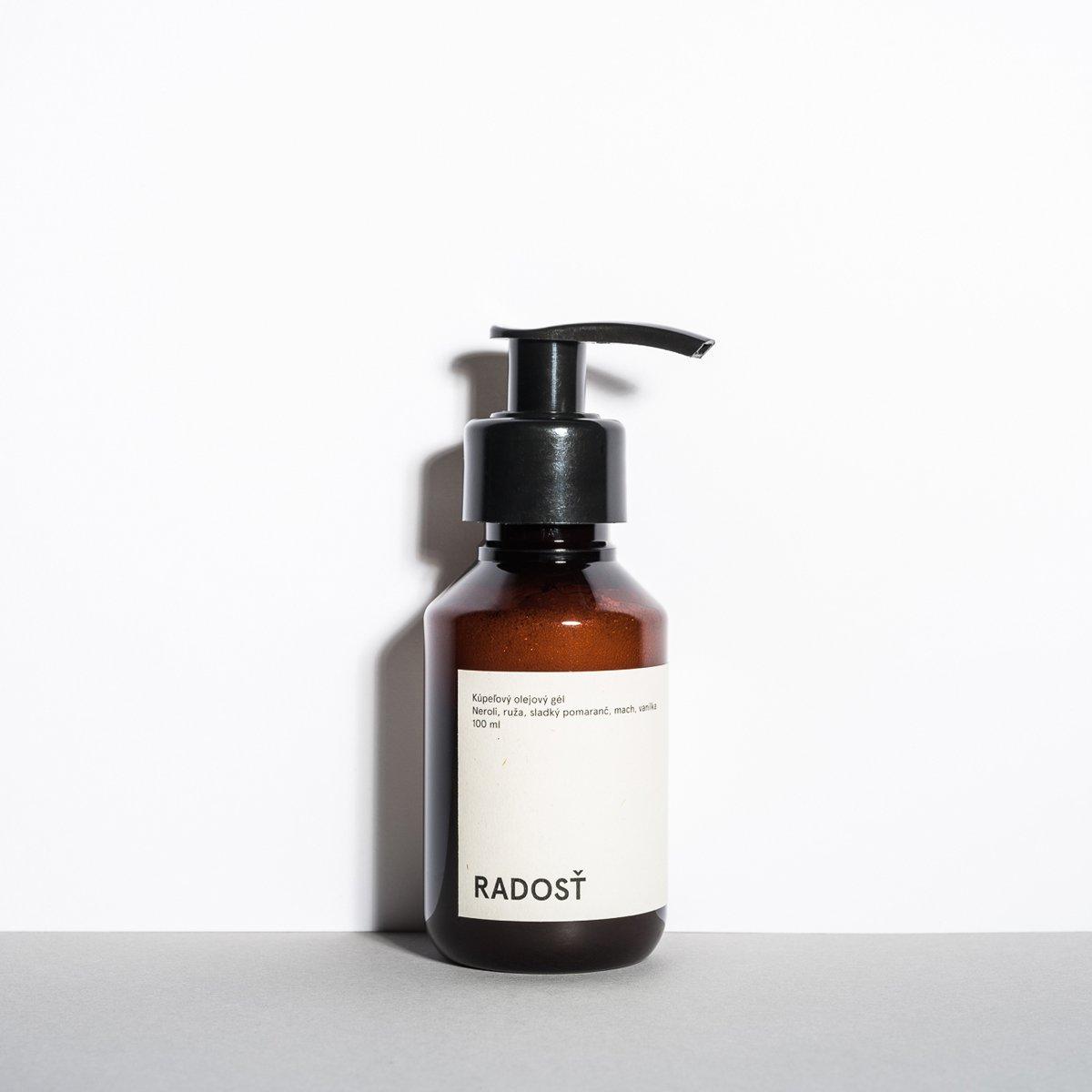 Koupelový olejový gel – Radost