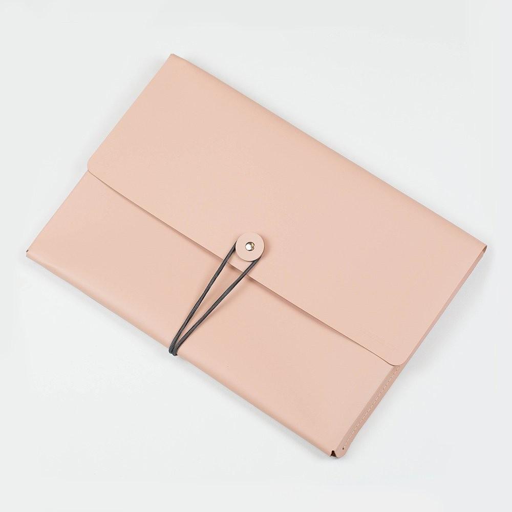 Kožené desky A4 – růžové