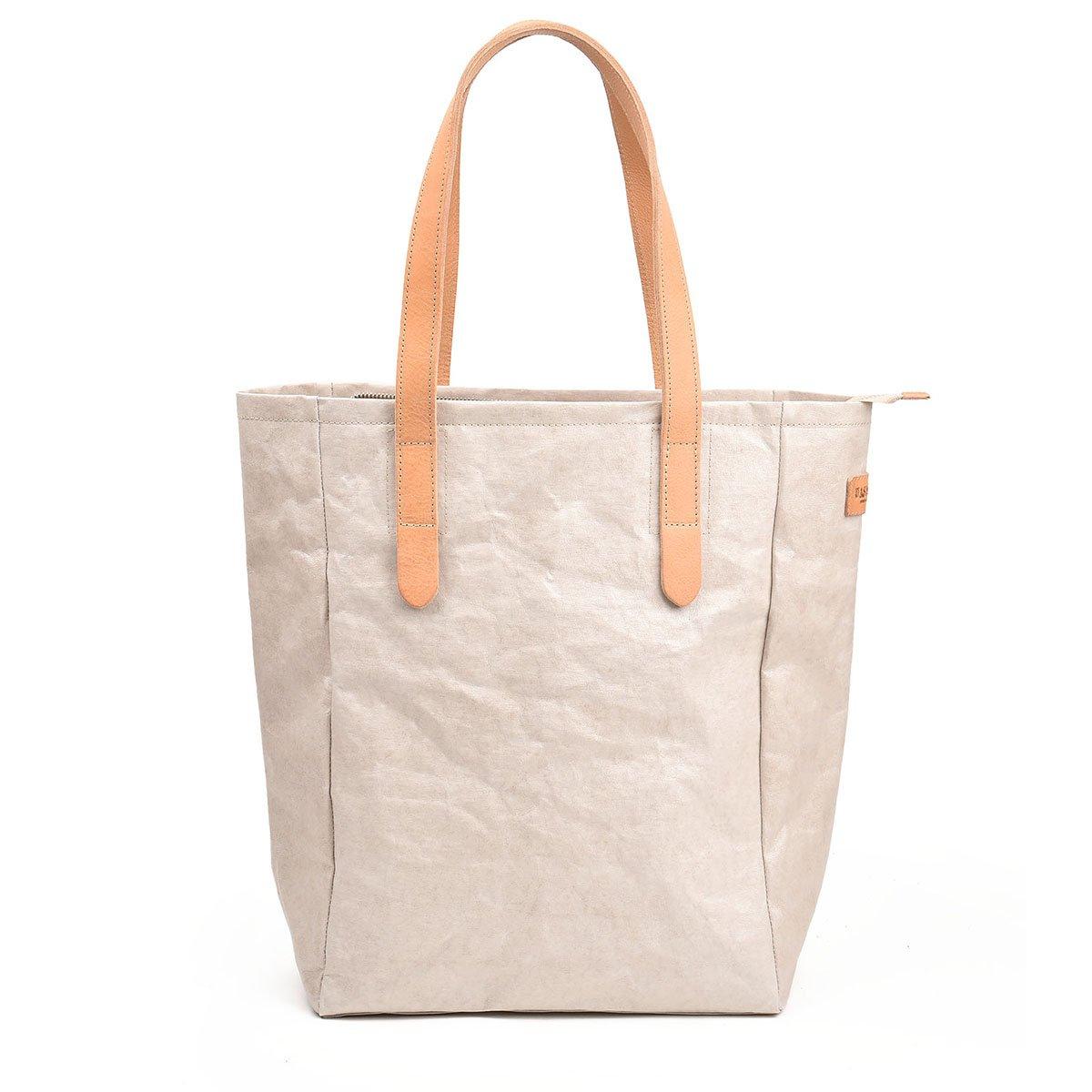 Papírová béžová taška Lux 2cc0336946