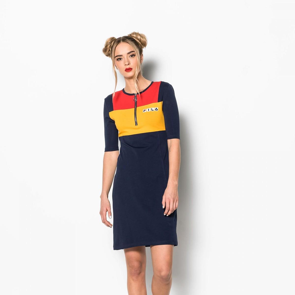 Modré sportovní šaty Katherine – S