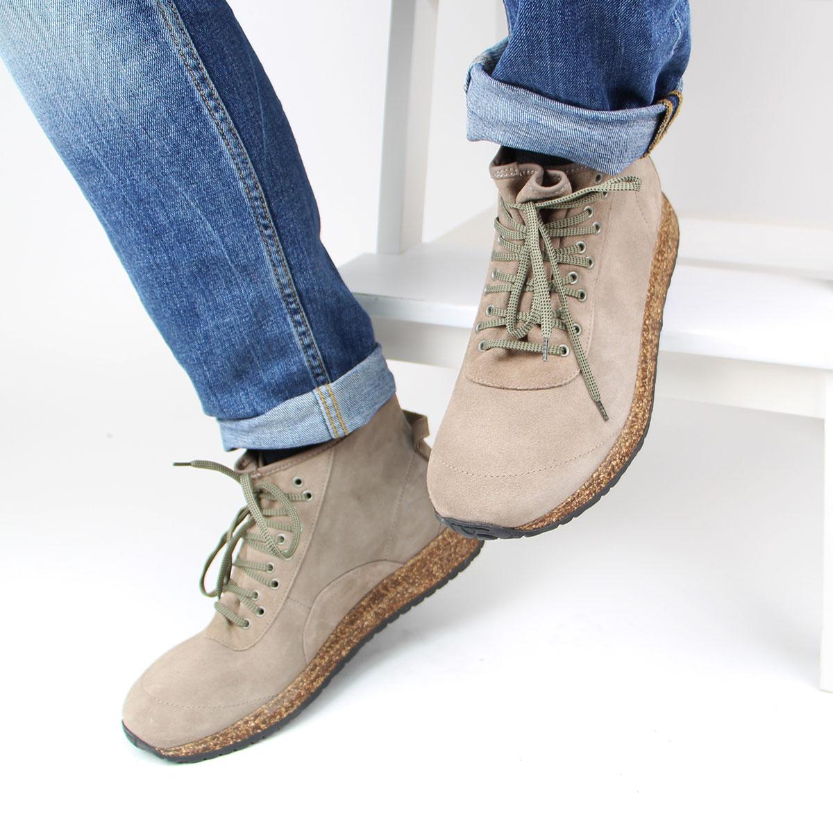 df412bbcaa4 Kožené hnědé kotníkové boty Atlin LEVE – 43