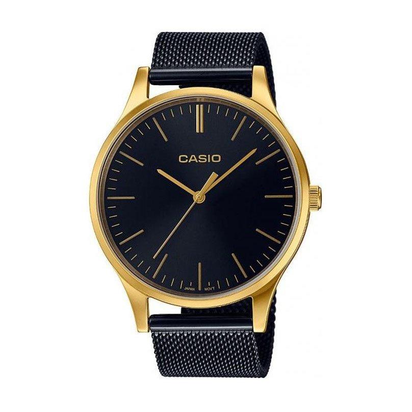 Černozlaté hodinky LTP E140GB-1A