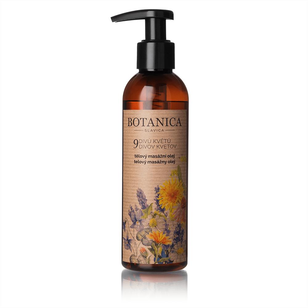 Tělový masážní olej 9 divů květů 200 ml