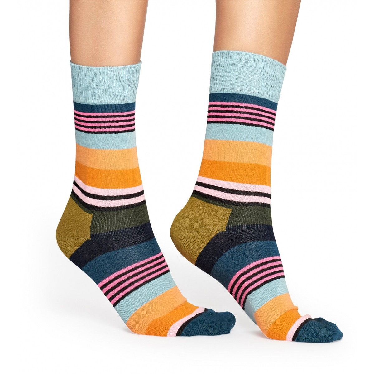 aef55a957e6 Barevné pruhované ponožky Multi Stripe – 41 - 46
