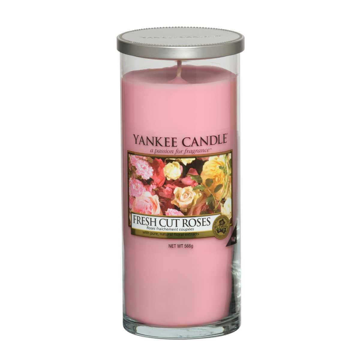 Vonná svíčka Fresh Cut Roses – L