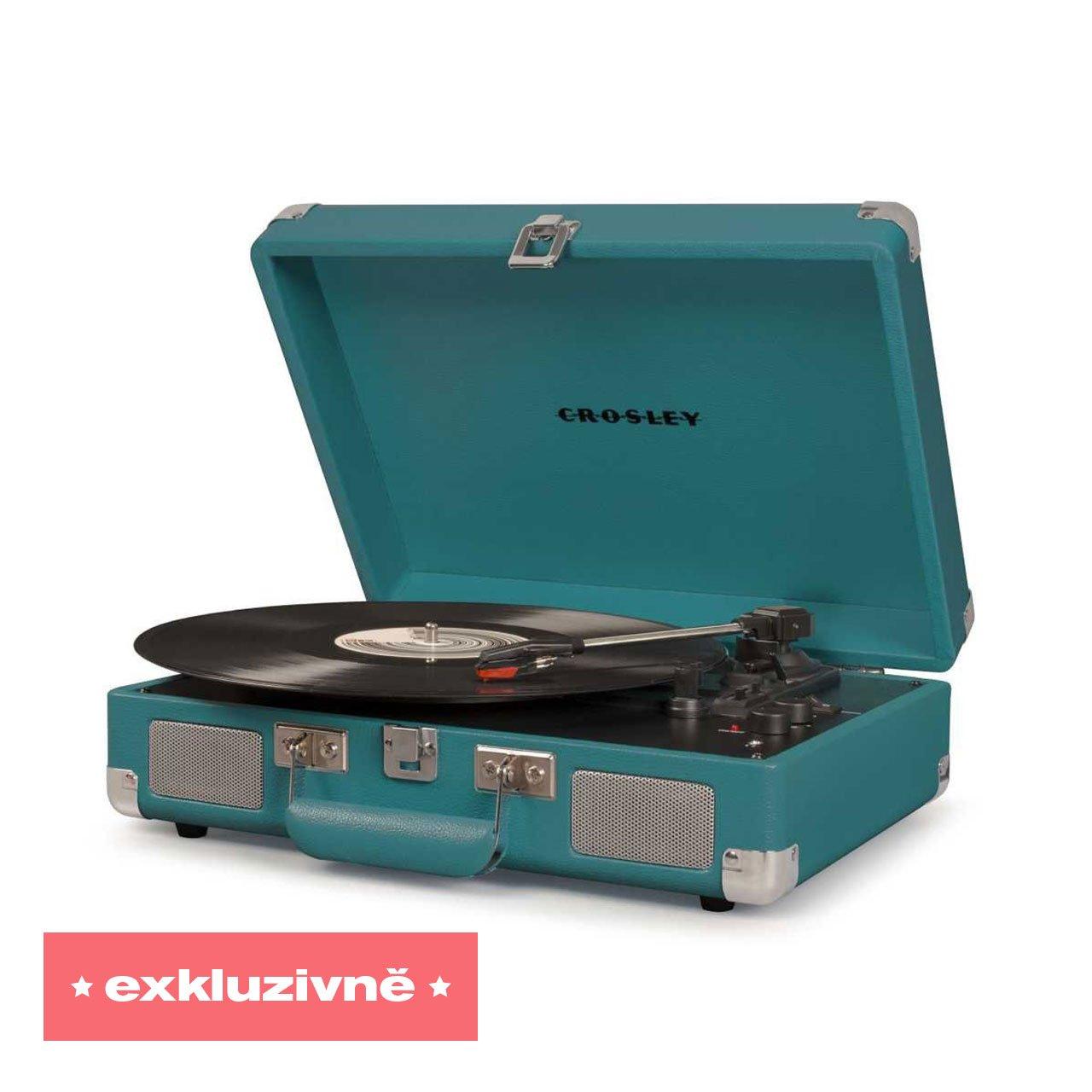 Gramofon Cruiser Deluxe Teal