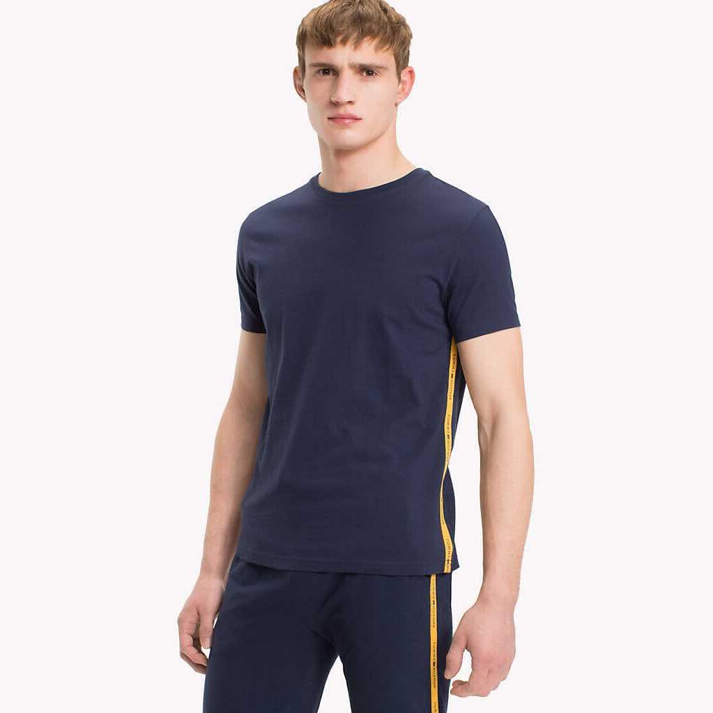 Tmavě modré tričko Modern Classic Tee – S