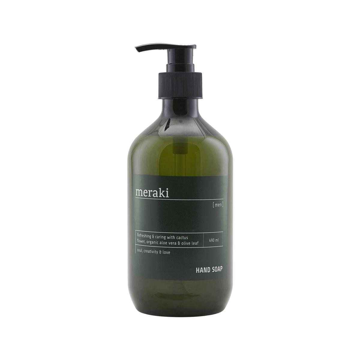 Pánské mýdlo na ruce Rosemary & Cactus Flower – 490 ml