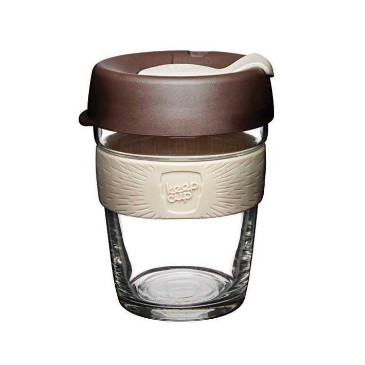 Designový skleněný hrnek Brew Roast 340 ml