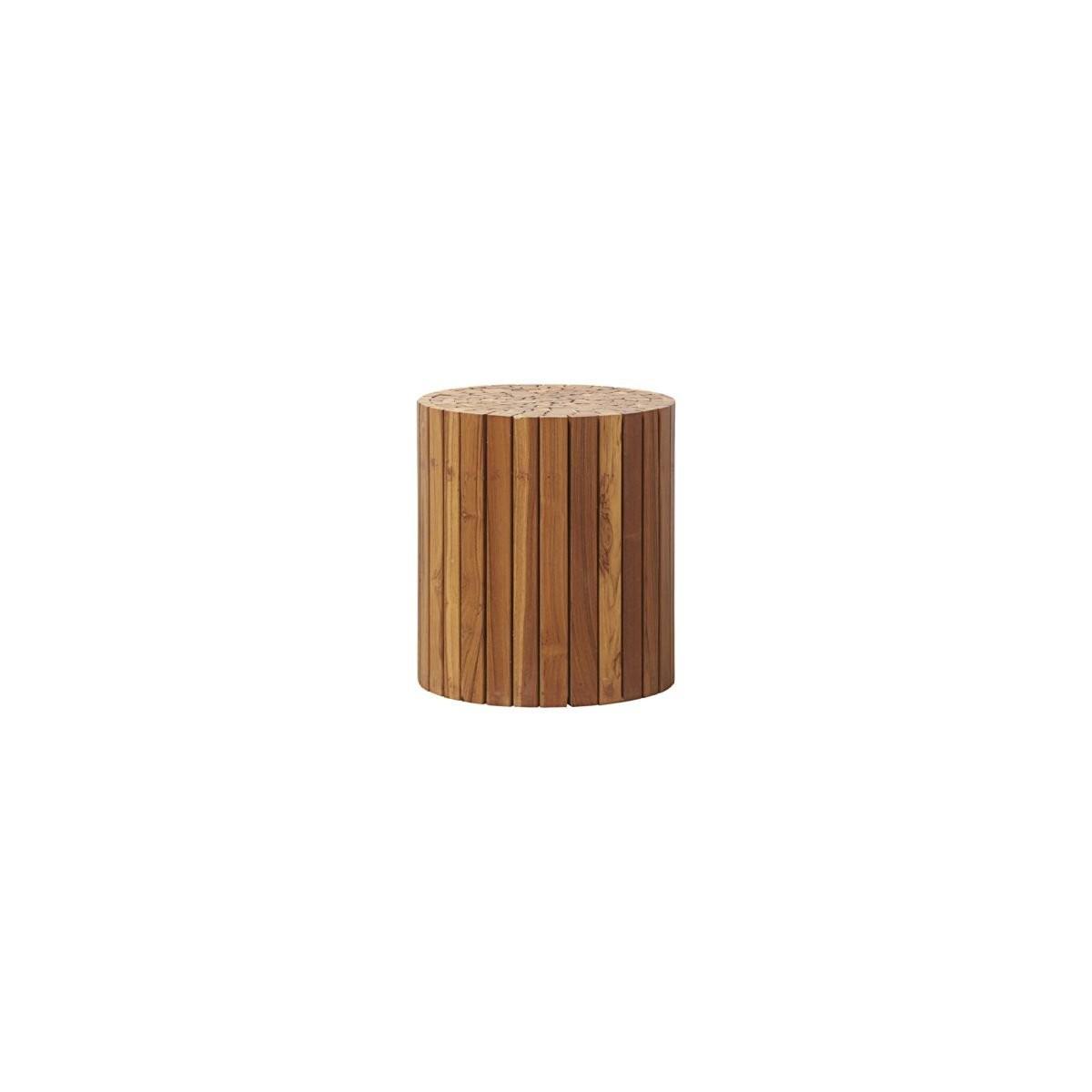Dřevěný odkládací stoleček teaku