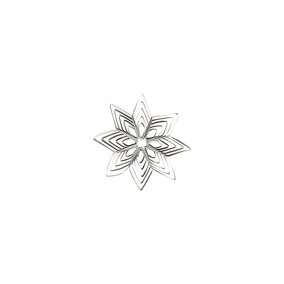 Levně HOUSE DOCTOR Sada 4 ks – Dekorační bílá hvězda