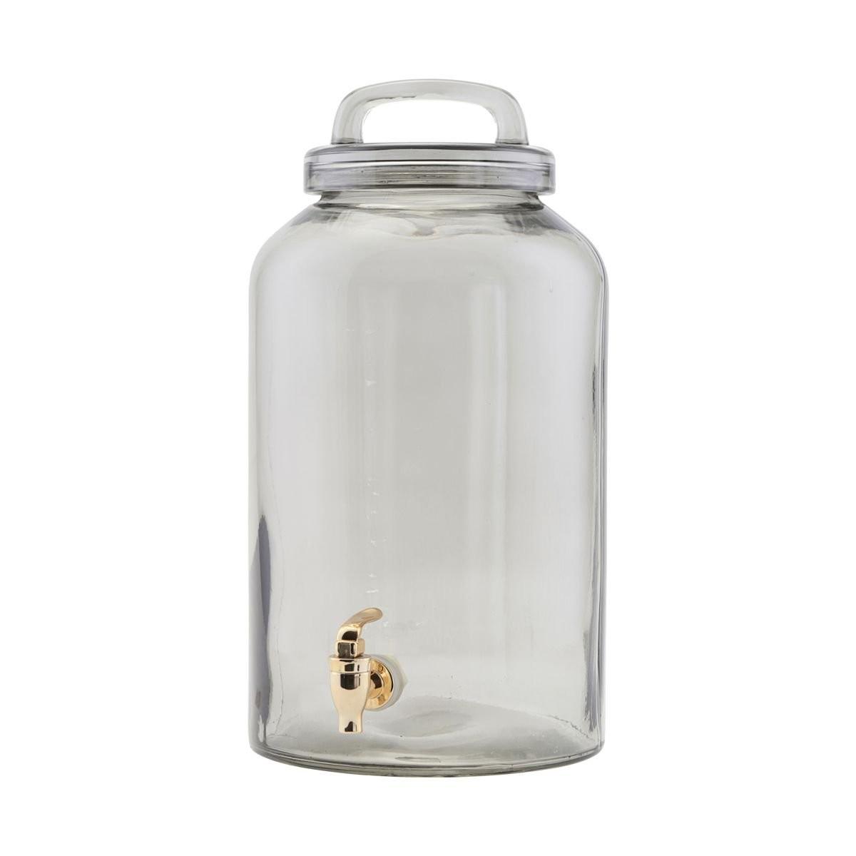 Sada 2 ks – Skleněná nádoba na nápoje s kohoutkem Ice cold