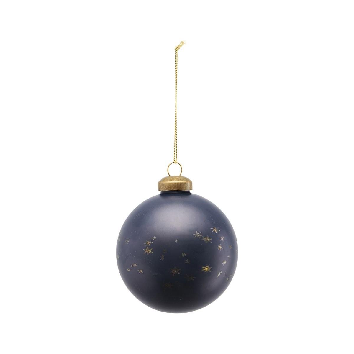 Sada 6 ks – Šedá dekorační koule