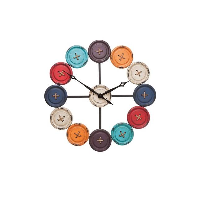 Nástěnné hodiny Buttons