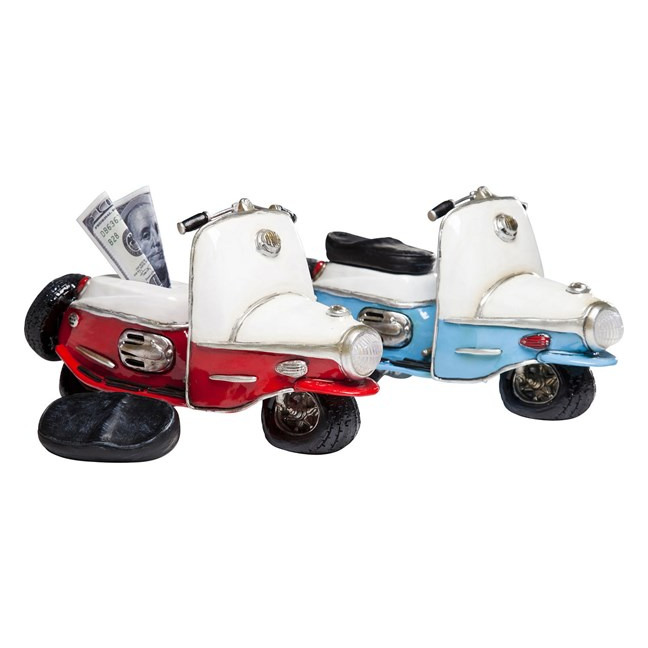 Sada 2 ks − Kasička Roller Vintage Assorted Kare Design
