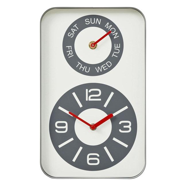 fce37d7b3 Nastenne hodiny kare design fila levně | Blesk zboží