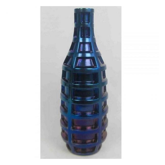 Sada 2 ks − Váza Grid Blue 57 cm Kare Design