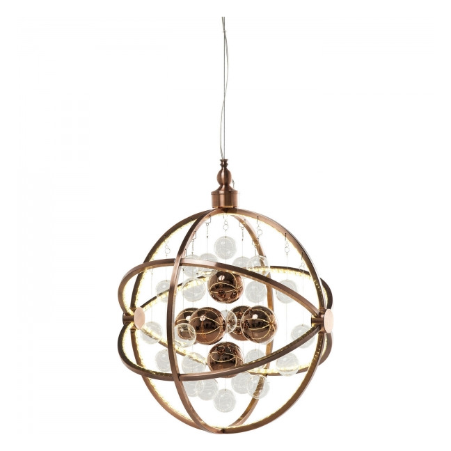 KARE DESIGN Lustr Universum Copper LED