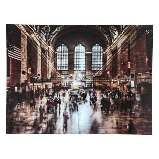 Obraz na skle Grand Central Station 120 × 160 cm Kare Design