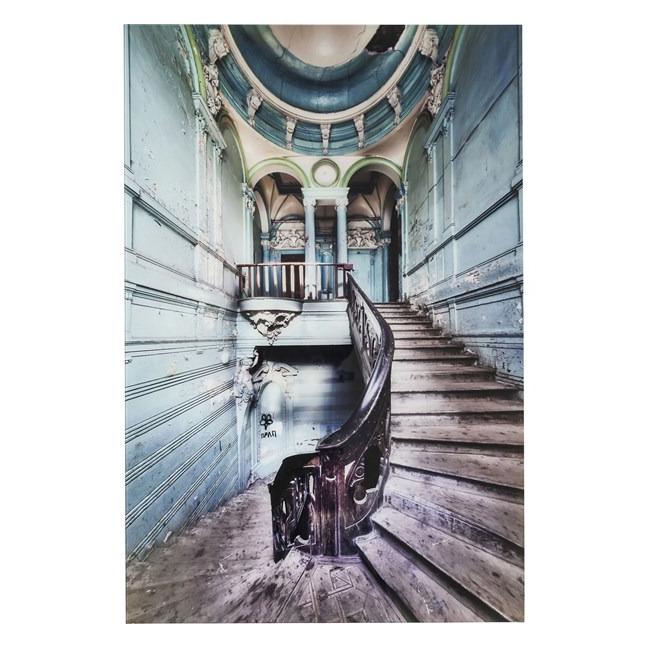 Obraz na skle Old Staircase 120 × 80 cm Kare Design