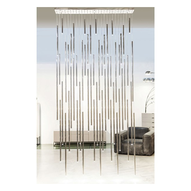 KARE DESIGN Lustr Living Vegas Deluxe Chrome LED
