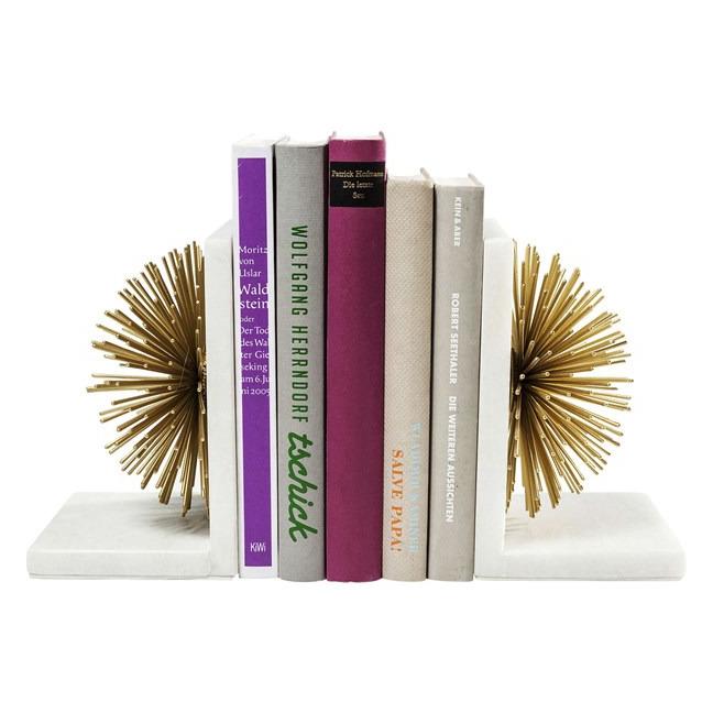 Sada 2 ks − Zarážka na knihy Sunbeam (sada dvou) Kare Design