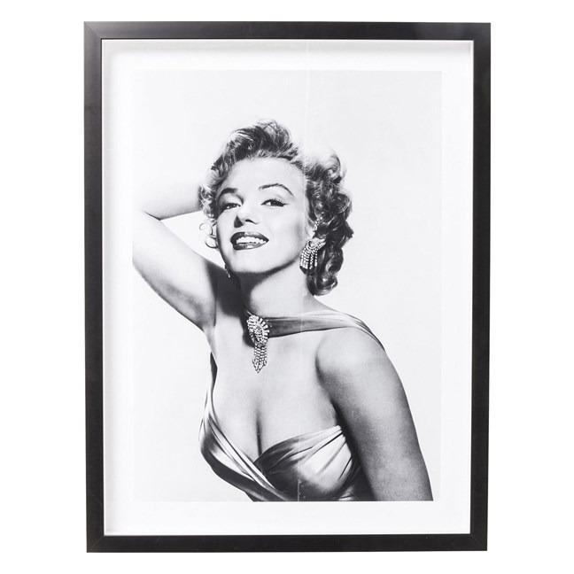 Obraz s rámem Actor Marilyn Diva 65x85 cm