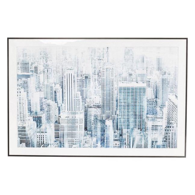 KARE DESIGN Obraz s rámem Big Apple One 100 × 150 cm