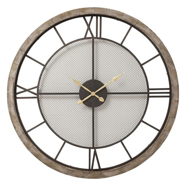 Nástěnné hodiny Village 121 cm
