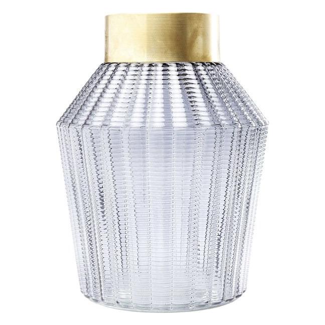Sada 2 ks − Váza Barfly 30 cm - šedá Kare Design