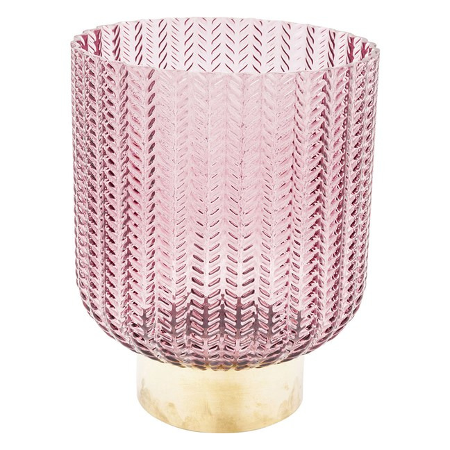 Sada 2 ks − Váza Barfly 20 cm - růžová Kare Design