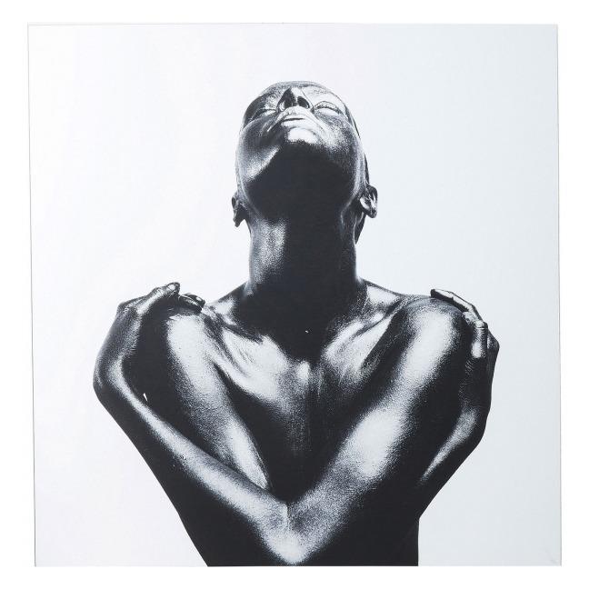 Obraz na skle Athlete 120 × 120 cm