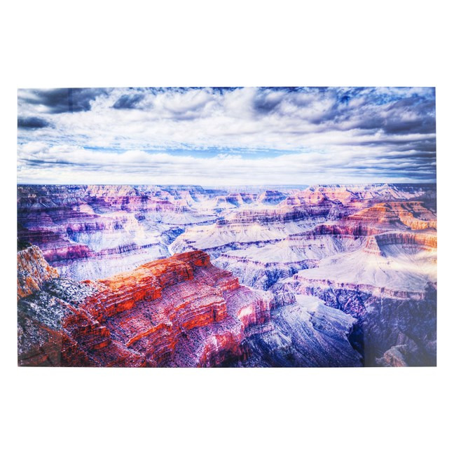 KARE DESIGN Obraz na skle Grand Canyon 120 × 180 cm