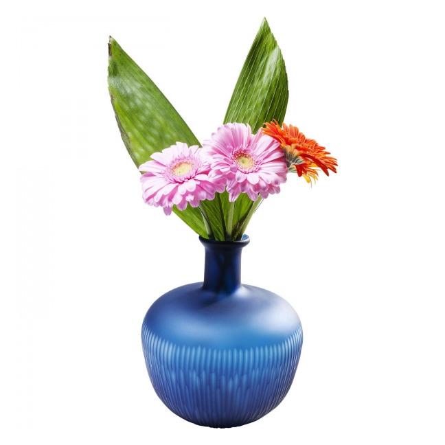Sada 2 ks − Váza Cutting Blue Belly Kare Design