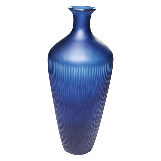 Sada 2 ks − Váza Cutting Blue Taille Kare Design