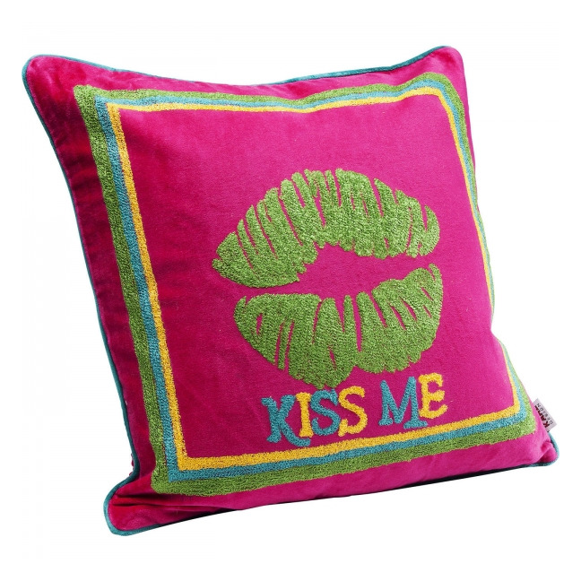 KARE DESIGN Sada 2 ks − Polštářek Kiss Me Colore 40 × 40 cm