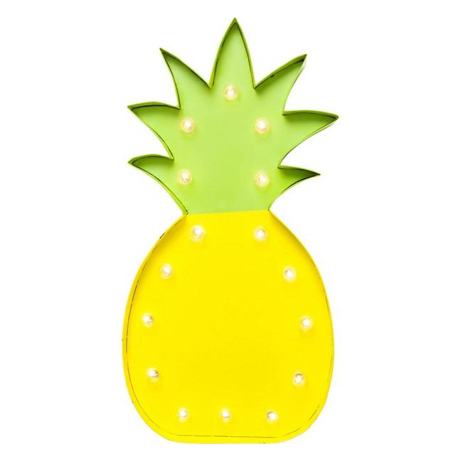 Nástěnné světlo Ananas