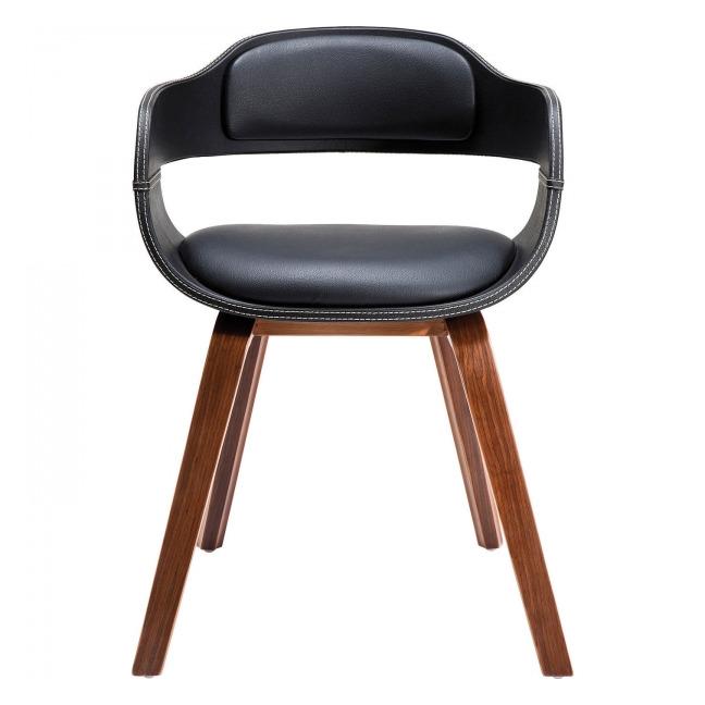Židle s opěrkou Costa Walnut
